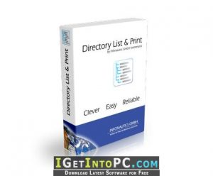 Directory List & Print 4 With Crack Full Version Free Download