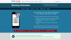 iBackup Extractor With Serial key Full Version Free Download